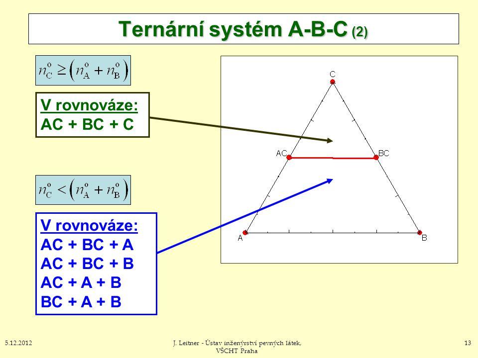 Ternární systém A-B-C (2)