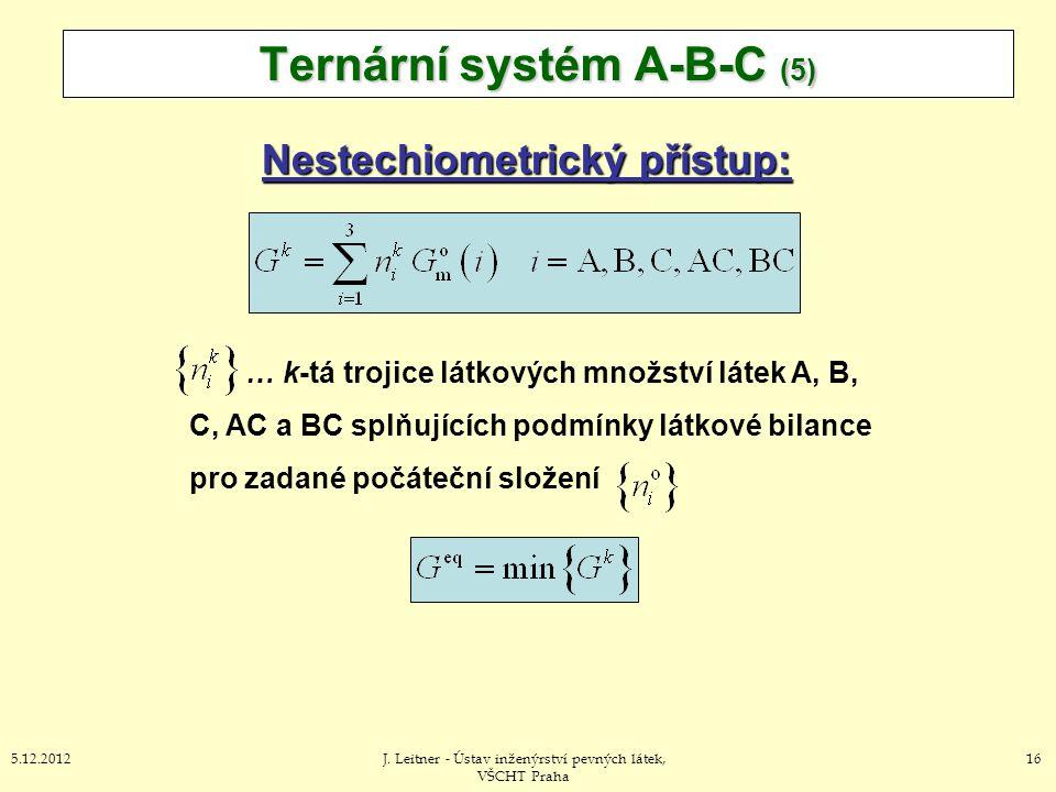 Ternární systém A-B-C (5)