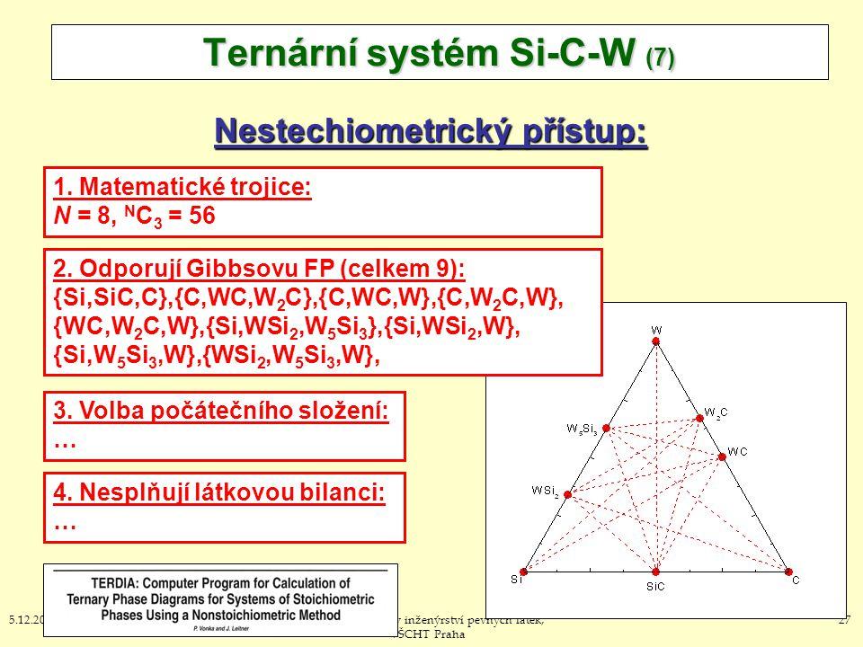 Ternární systém Si-C-W (7)