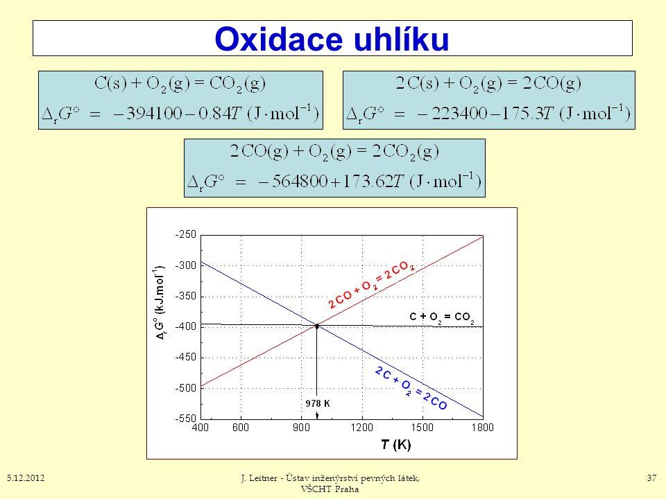 Oxidace uhlíku