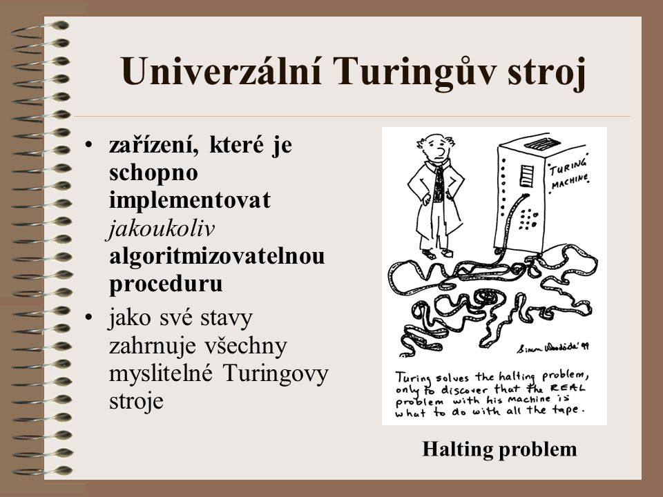 Univerzální Turingův stroj