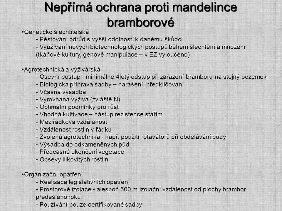Nepřímá ochrana proti mandelince bramborové