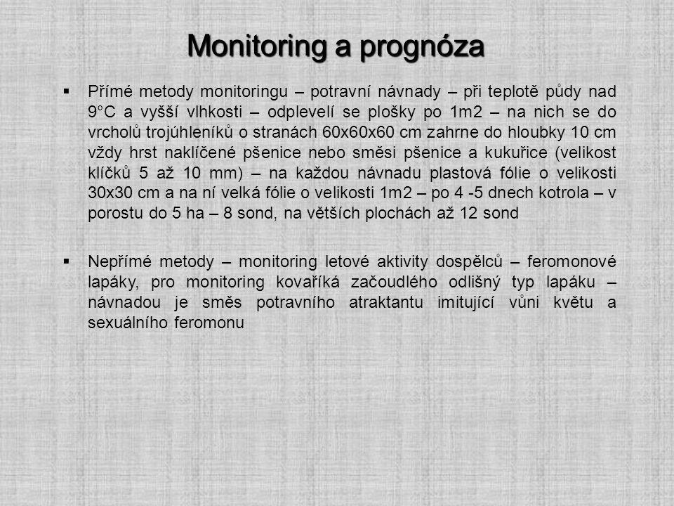 Monitoring a prognóza