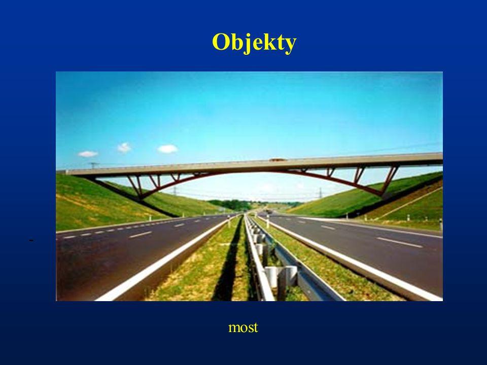 Objekty - most