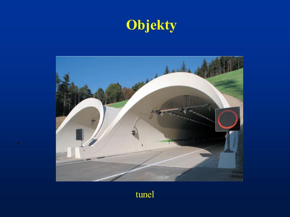 Objekty - tunel