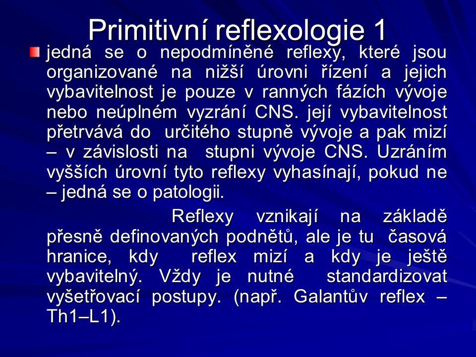 Primitivní reflexologie 1
