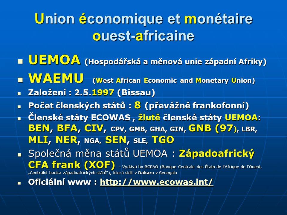 Union économique et monétaire ouest-africaine