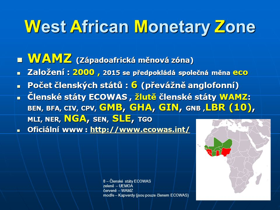 West African Monetary Zone