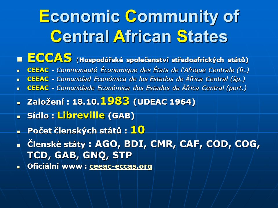 Economic Community of Central African States