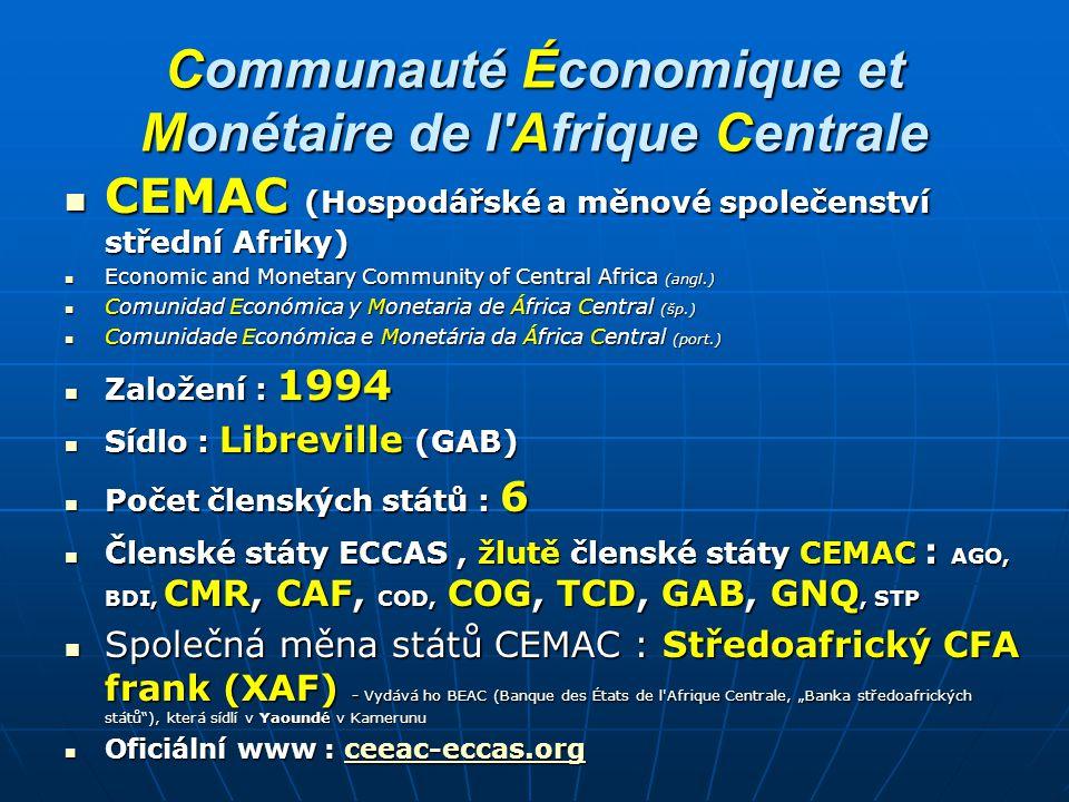 Communauté Économique et Monétaire de l Afrique Centrale