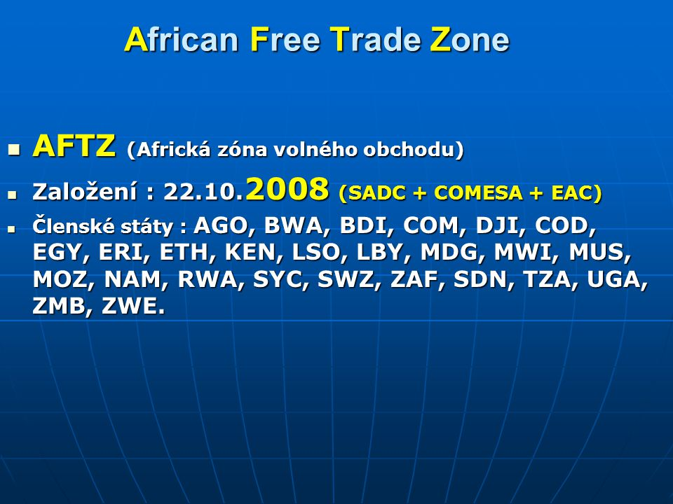 African Free Trade Zone