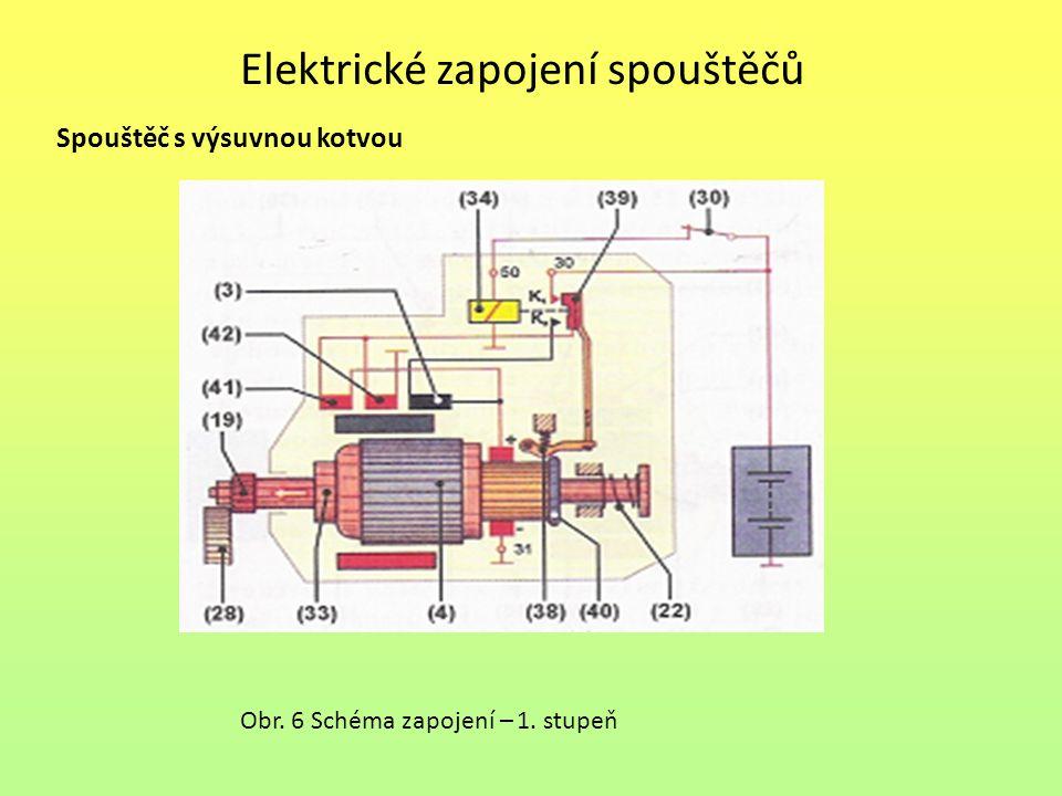 Elektrické zapojení spouštěčů
