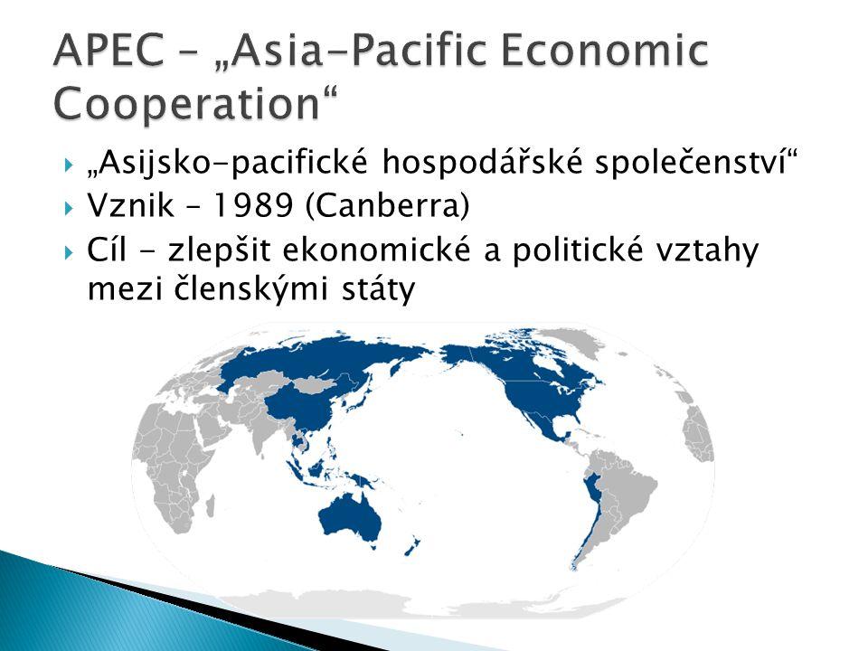 """APEC – """"Asia-Pacific Economic Cooperation"""