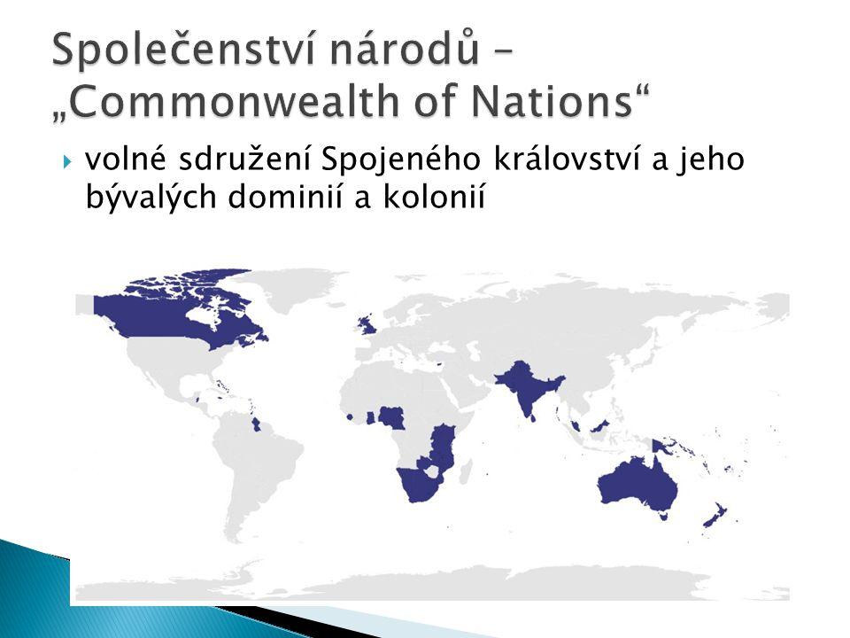 """Společenství národů – """"Commonwealth of Nations"""