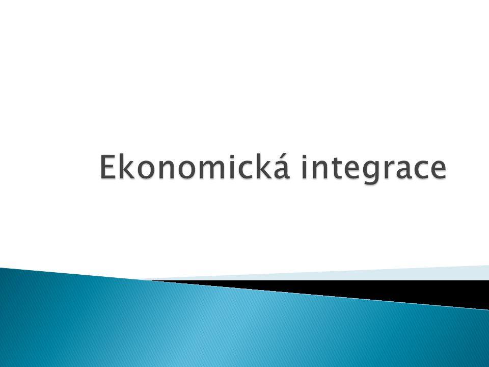 Ekonomická integrace