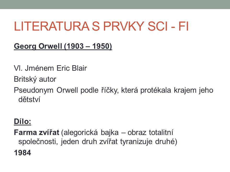 LITERATURA S PRVKY SCI - FI