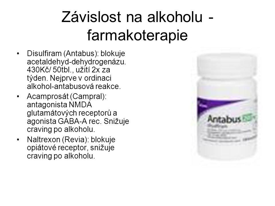 Závislost na alkoholu - farmakoterapie