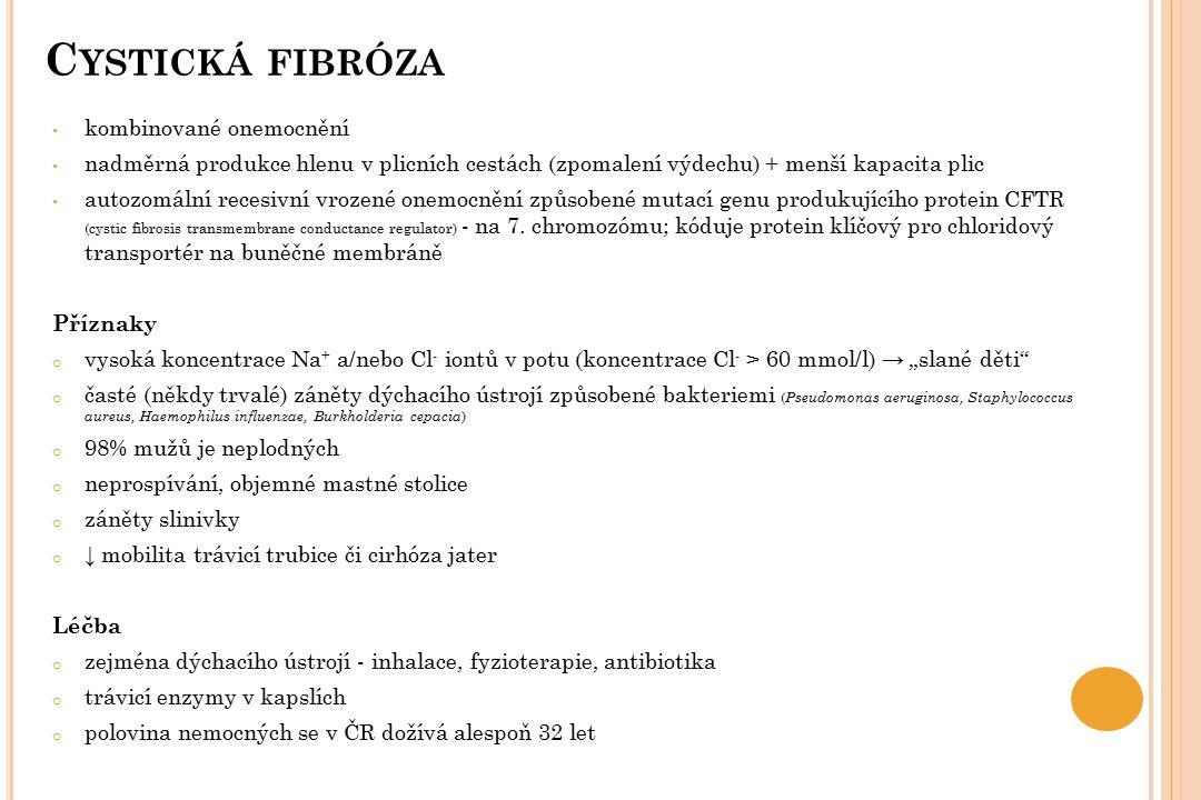 Cystická fibróza kombinované onemocnění
