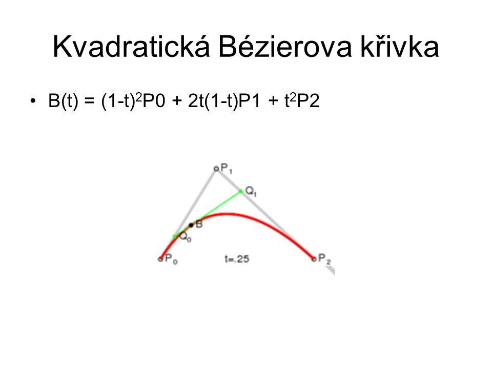 Kvadratická Bézierova křivka