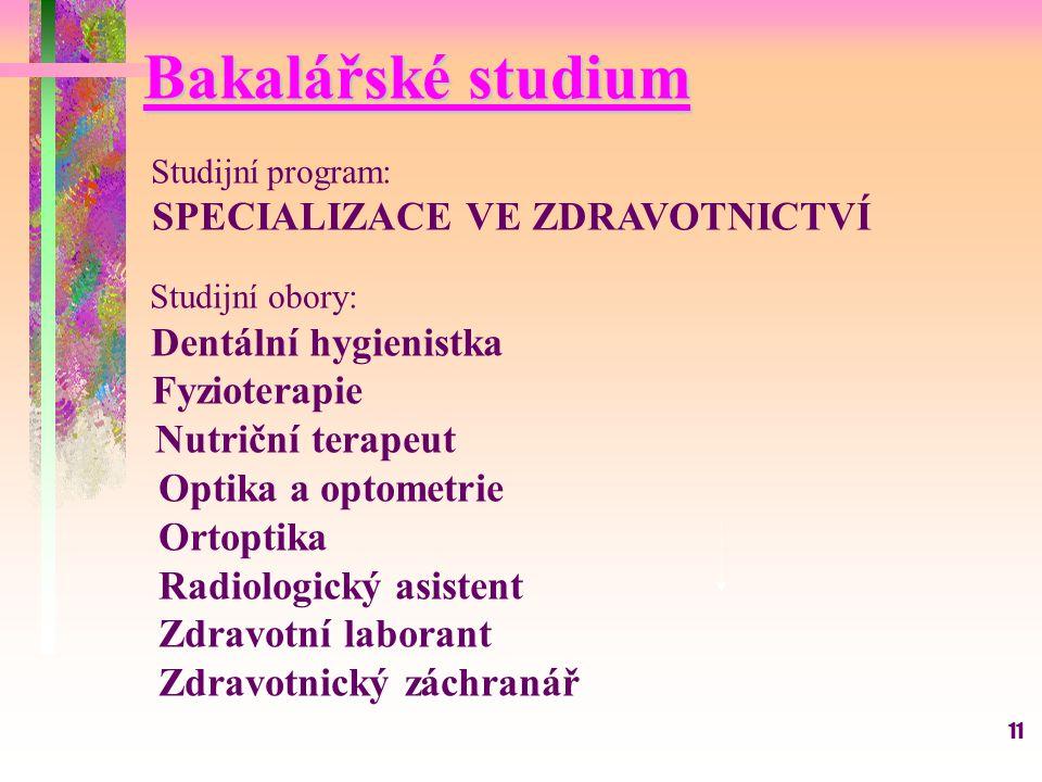 Radiologický asistent Zdravotní laborant Zdravotnický záchranář