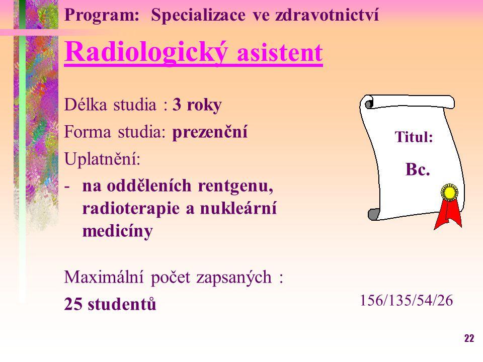 Radiologický asistent