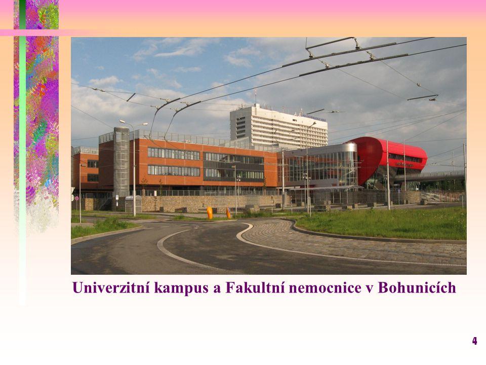 Univerzitní kampus a Fakultní nemocnice v Bohunicích