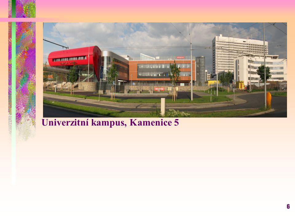 Univerzitní kampus, Kamenice 5