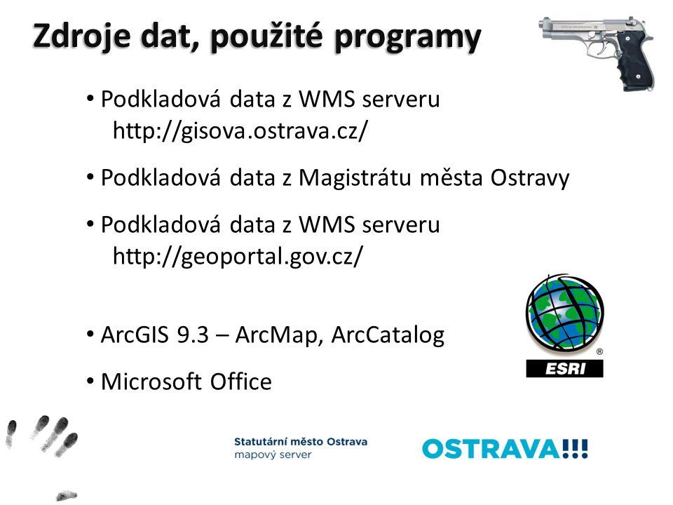 Zdroje dat, použité programy