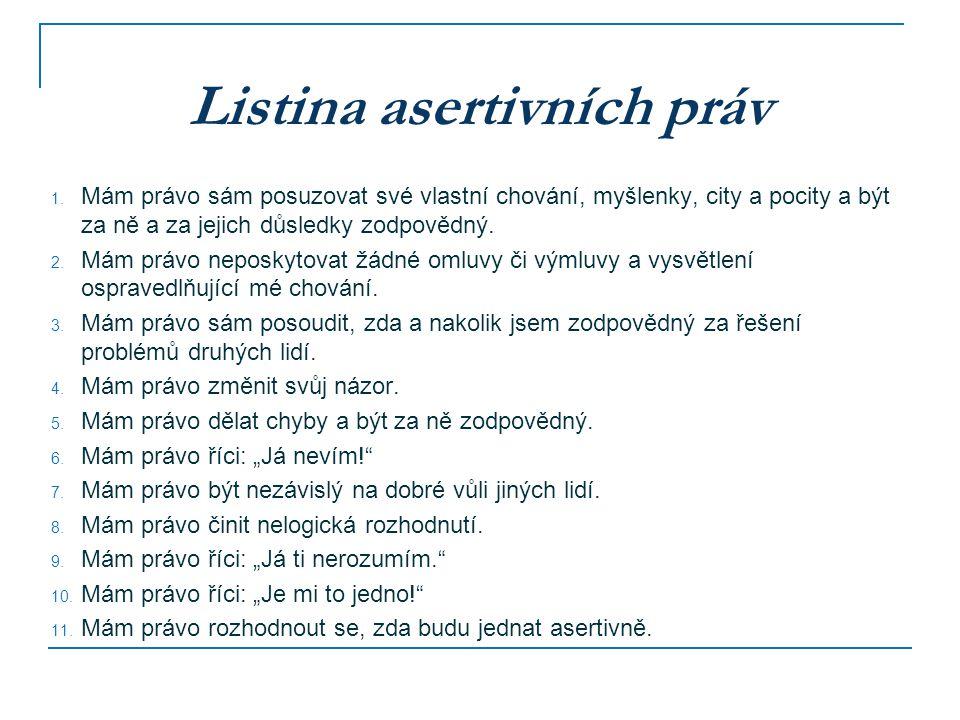 Listina asertivních práv