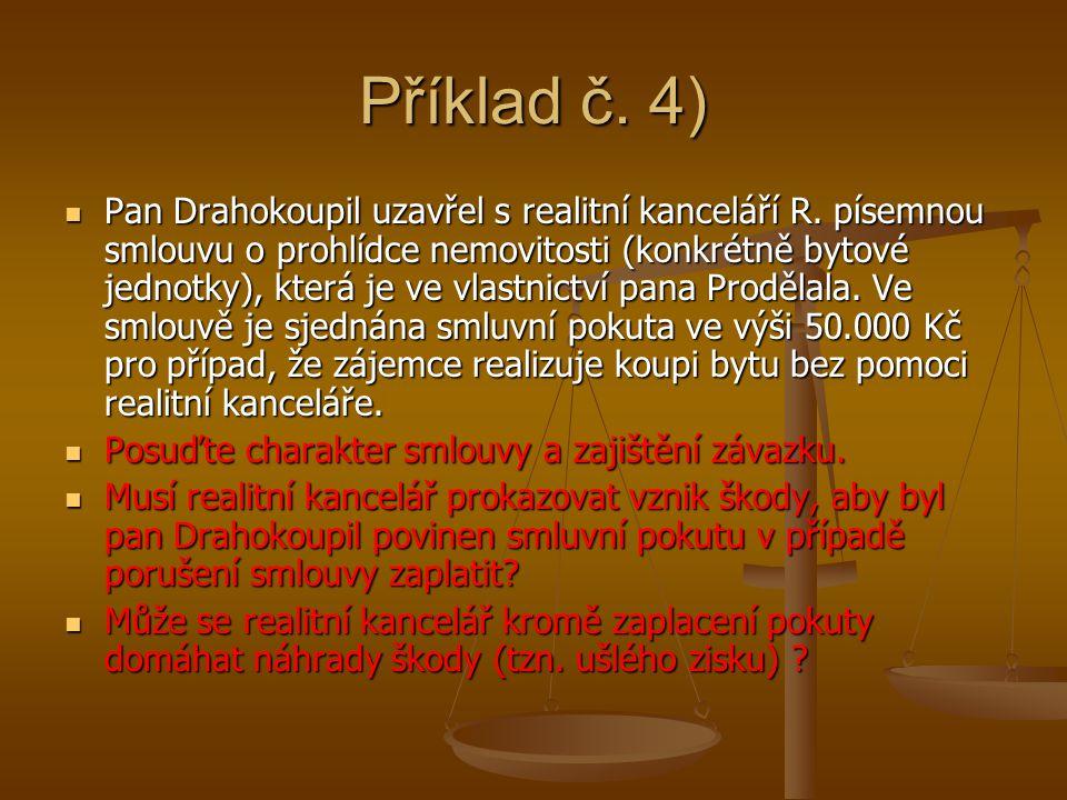 Příklad č. 4)