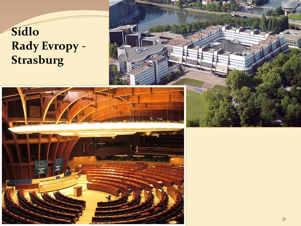 Rady Evropy - Strasburg