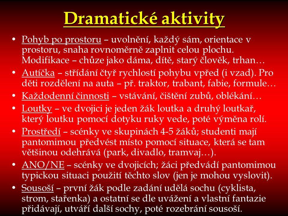 Dramatické aktivity