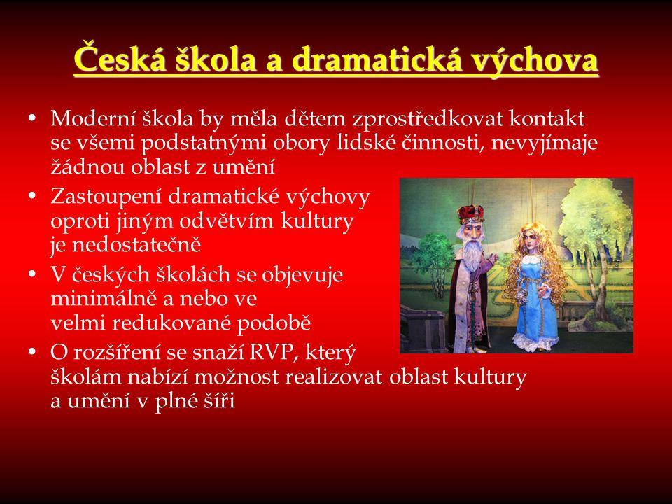 Česká škola a dramatická výchova