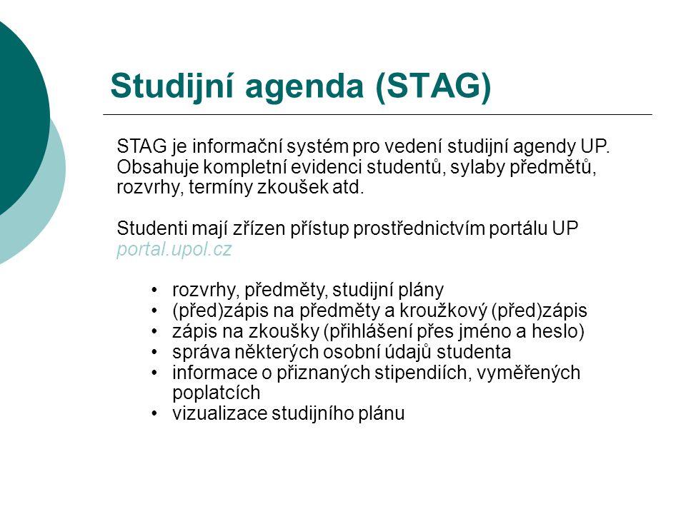Studijní agenda (STAG)