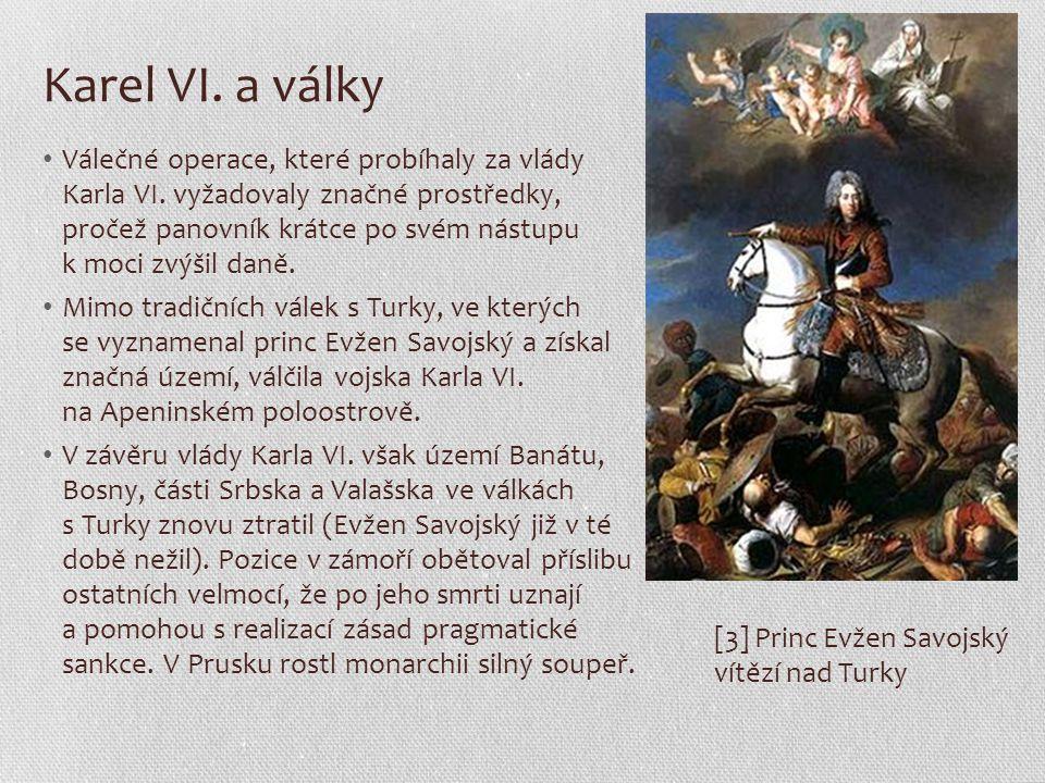 Karel VI. a války