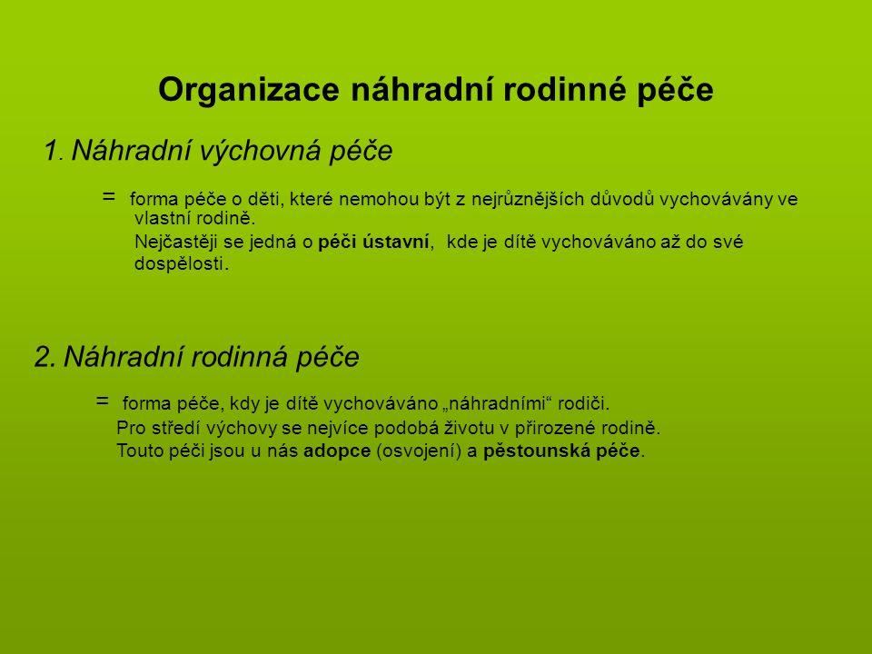 Organizace náhradní rodinné péče
