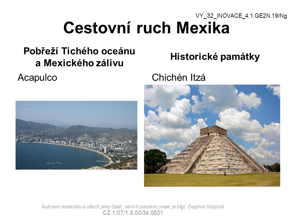 Pobřeží Tichého oceánu a Mexického zálivu