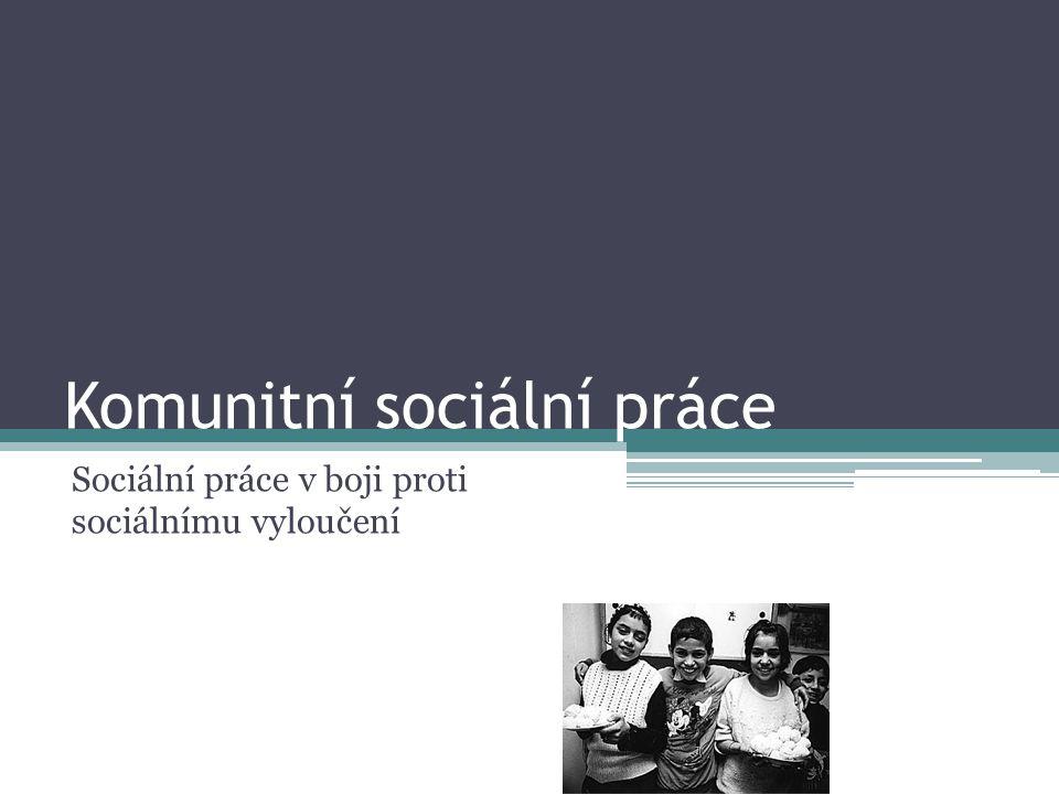 Komunitní sociální práce