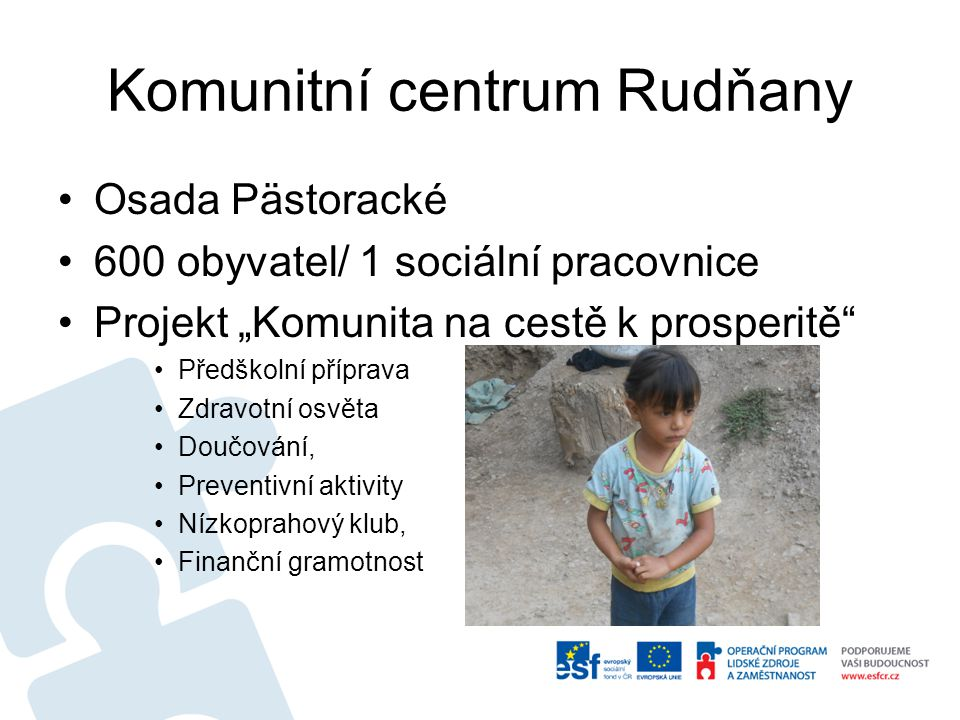 Komunitní centrum Rudňany