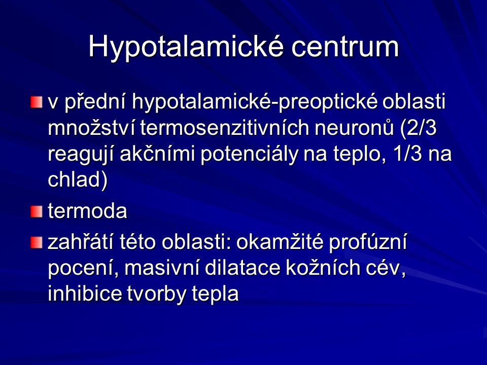 Hypotalamické centrum