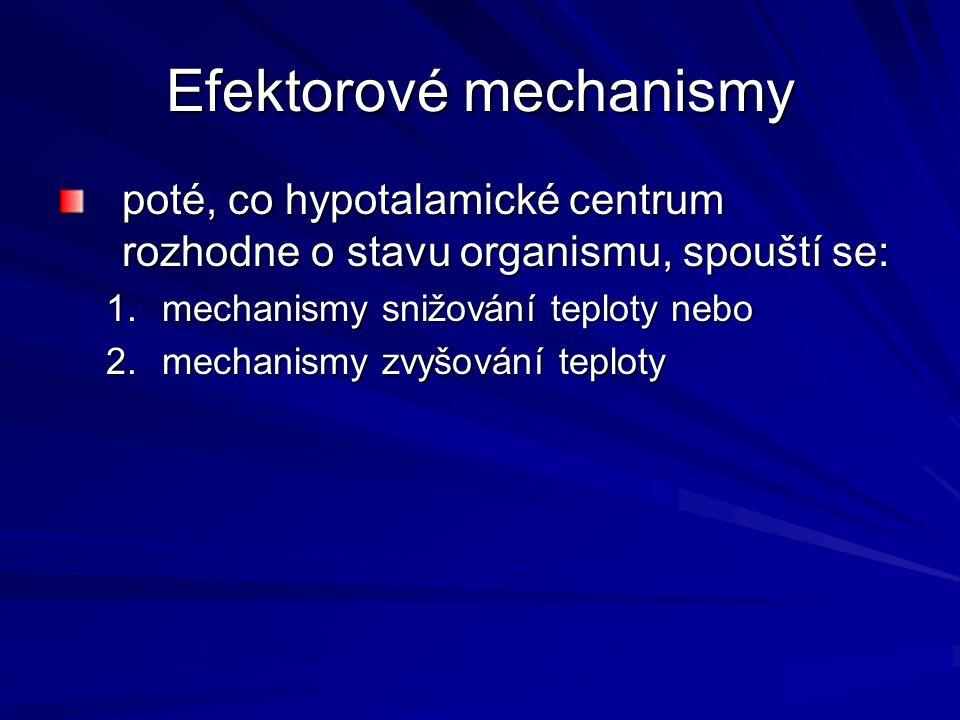 Efektorové mechanismy