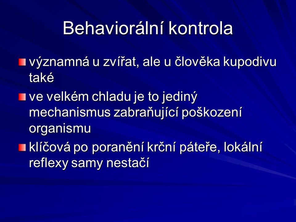 Behaviorální kontrola