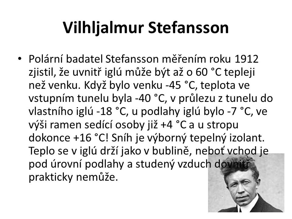 Vilhljalmur Stefansson