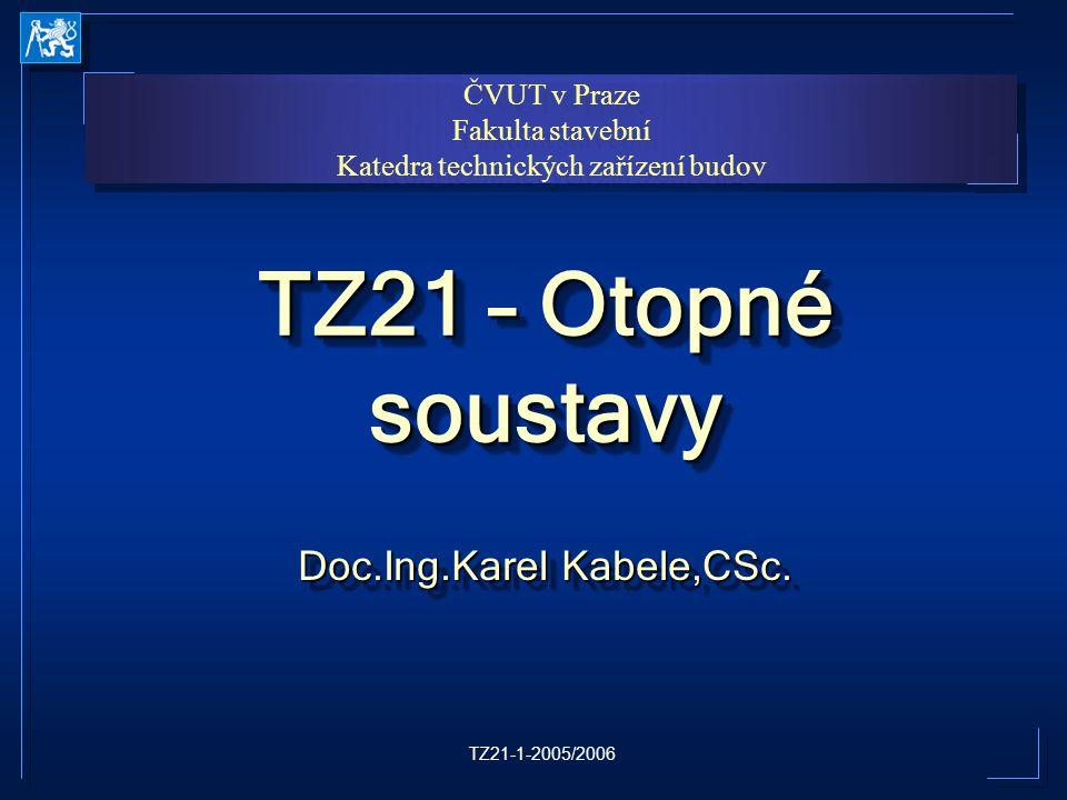 Doc.Ing.Karel Kabele,CSc.