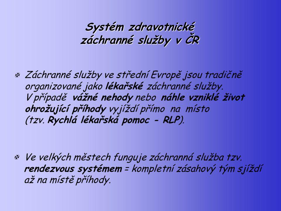 Systém zdravotnické záchranné služby v ČR