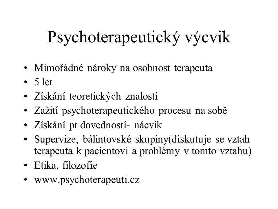 Psychoterapeutický výcvik