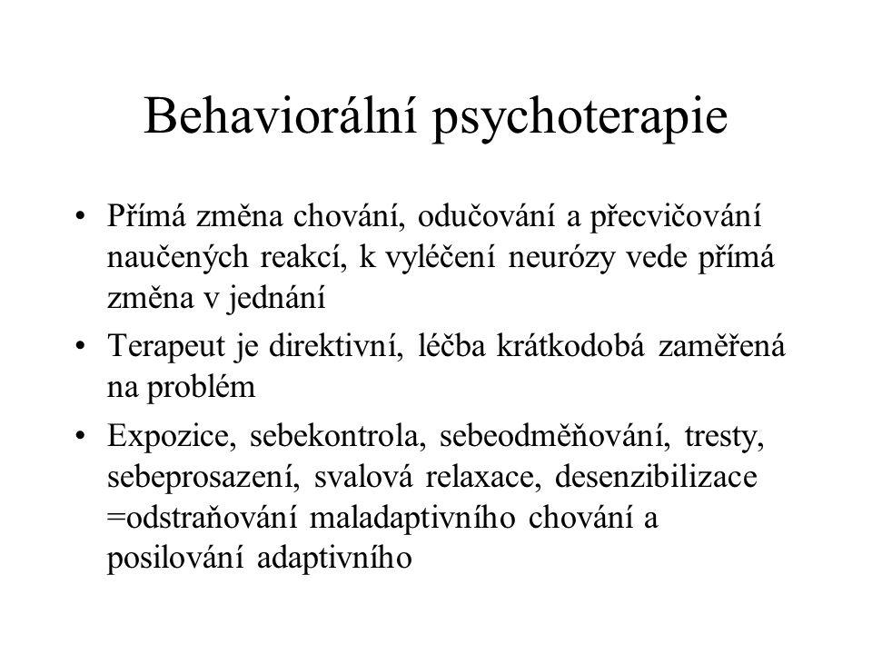 Behaviorální psychoterapie