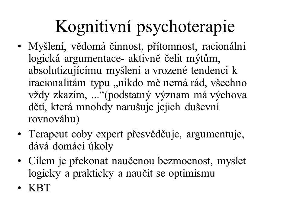Kognitivní psychoterapie
