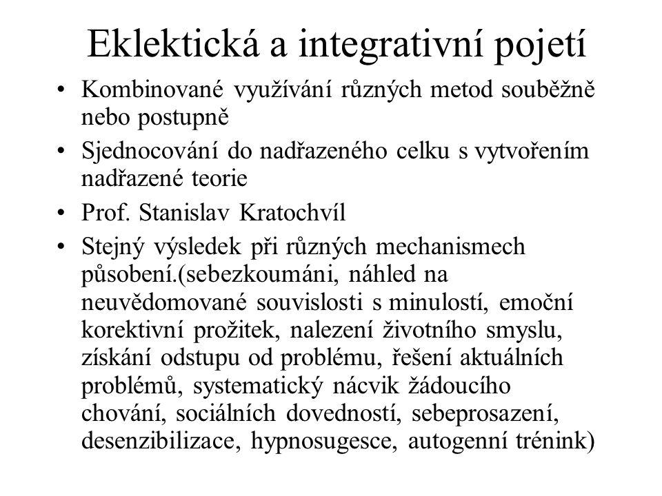 Eklektická a integrativní pojetí