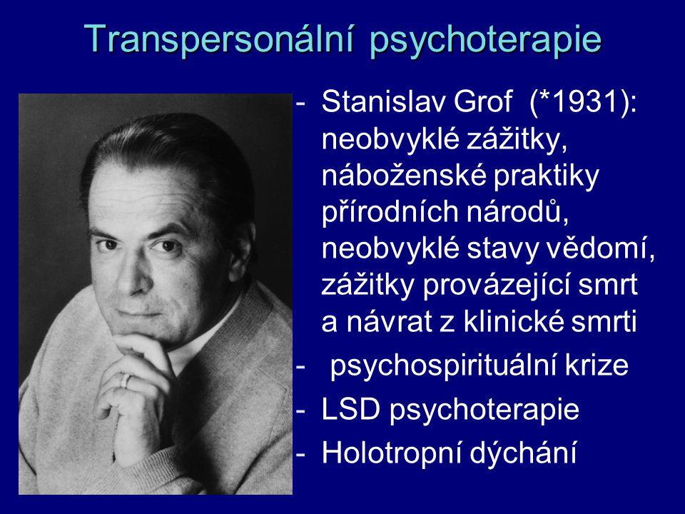 Transpersonální psychoterapie